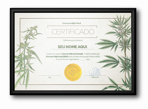 Certificado Growroom HighSchool